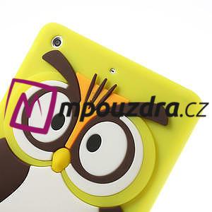 Silikonové pouzdro na iPad mini 2 - žlutá sova - 5