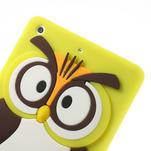 Silikonové pouzdro na iPad mini 2 - žlutá sova - 5/6