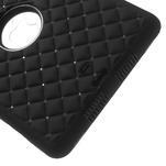 Hybridní kamínkové pouzdro pro iPad mini- černé - 5/7