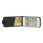 Flipové pouzdro pro iPhone 4, 4s- černé - 5/7
