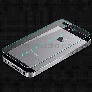 Tvrzené sklo na displej a zadní kryt pro iPhone 5/5s/SE - 5