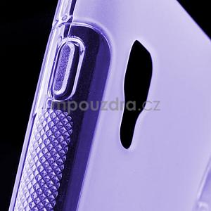 Gelové S-line  pouzdro pro LG Optimus L5 II E460- fialové - 5