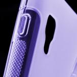 Gelové S-line  pouzdro pro LG Optimus L5 II E460- fialové - 5/5