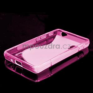 Gelové S-line  pouzdro pro LG Optimus L5 II E460- růžové - 5