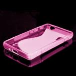 Gelové S-line  pouzdro pro LG Optimus L5 II E460- růžové - 5/5