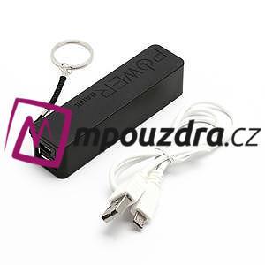 2600mAh externí baterie Power Bank - černá - 5