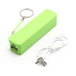 2600mAh externí baterie Power Bank - zelená - 5/6