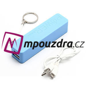 2600mAh externí baterie Power Bank - modrá - 5