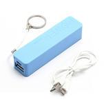 2600mAh externí baterie Power Bank - modrá - 5/6