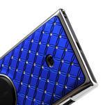 Drahokamové pouzdro pro Nokia Lumia 1020- modré - 5/6