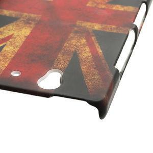 Plastové pouzdro na Sony Xperia Z L36i C6603- UK vlajka - 5