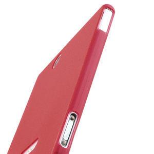 Ultra slim pouzdro na Sony Xperia Z ultra- červené - 5