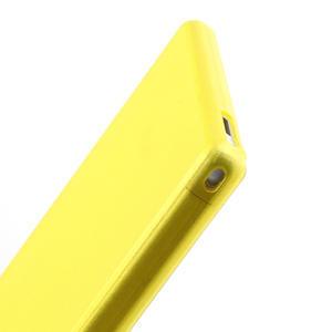 Ultra slim pouzdro na Sony Xperia Z ultra- žluté - 5