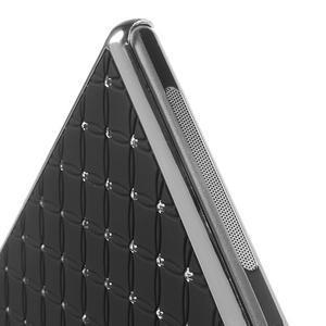 Drahokamové pouzdro na Sony Xperia Z1 C6903 L39- černé - 5