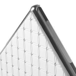 Drahokamové pouzdro na Sony Xperia Z1 C6903 L39- bílé - 5