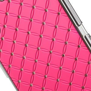 Drahokamové pouzdro na Sony Xperia Z1 C6903 L39- světlerůžové - 5