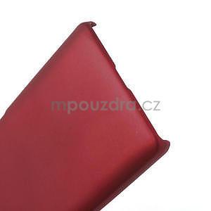 Pogumované  pouzdro pro LG Optimus L9 II D605- červené - 5