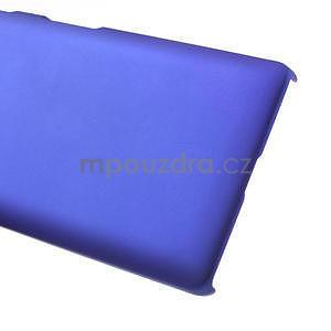 Pogumované  pouzdro pro LG Optimus L9 II D605- modré - 5