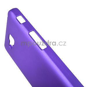 Pogumované  pouzdro pro LG Optimus L9 II D605- fialové - 5