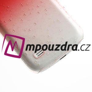 Plastové minerální pouzdro pro Samsung Galaxy S4 mini i9190- červené - 5
