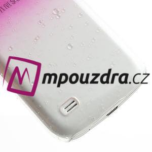 Plastové minerální pouzdro pro Samsung Galaxy S4 mini i9190- růžové - 5