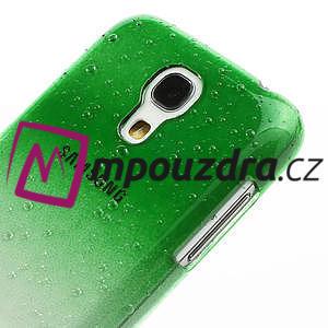 Plastové minerální pouzdro pro Samsung Galaxy S4 mini i9190- zelené - 5