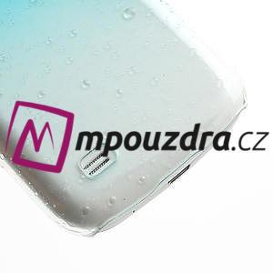 Plastové minerální pouzdro pro Samsung Galaxy S4 mini i9190- světlemodré - 5