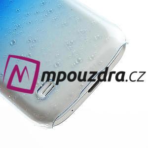 Plastové minerální pouzdro pro Samsung Galaxy S4 mini i9190- modré - 5