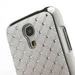 Drahokamové pouzdro pro Samsung Galaxy S4 mini i9190- bílé - 5/6