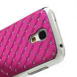 Drahokamové pouzdro pro Samsung Galaxy S4 mini i9190- růžové - 5/5