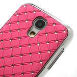 Drahokamové pouzdro pro Samsung Galaxy S4 mini i9190- světlerůžové - 5/5