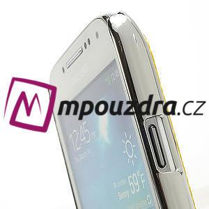 Drahokamové pouzdro pro Samsung Galaxy S4 mini i9190- žluté - 5
