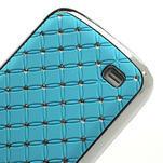 Drahokamové pouzdro pro Samsung Galaxy S4 mini i9190- svělemodré - 5/5