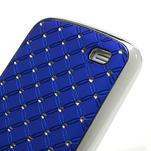 Drahokamové pouzdro pro Samsung Galaxy S4 mini i9190- modré - 5/5