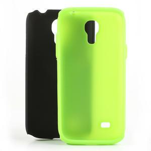 Hybridní pouzdro na Samsung Galaxy S4 mini i9190- zelené - 5