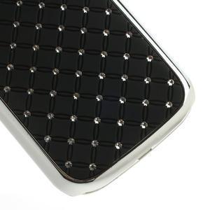 Drahokamové pouzdro pro Samsung Galaxy S3 i9300 - černé - 5