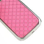 Drahokamové pouzdro pro Samsung Galaxy S3 i9300- světle-růžové - 5/5