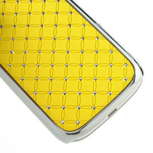 Drahokamové pouzdro pro Samsung Galaxy S3 i9300 - žlutá - 5