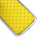 Drahokamové pouzdro pro Samsung Galaxy S3 i9300 - žlutá - 5/5