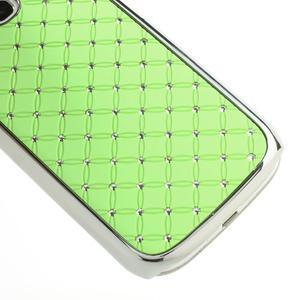Drahokamové pouzdro pro Samsung Galaxy S3 i9300 - zelené - 5