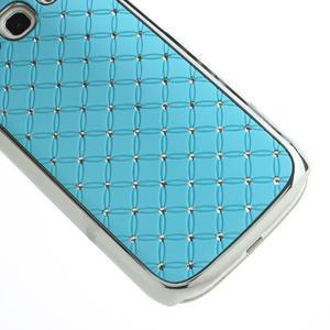 Drahokamové pouzdro pro Samsung Galaxy S3 i9300 - světlě-modré - 5