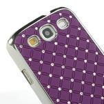 Drahokamové pouzdro pro Samsung Galaxy S3 i9300 - fialové - 5/5