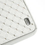 Drahokamové pouzdro pro Samsung Galaxy S4 i9500- bílé - 5/7