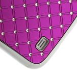 Drahokamové pouzdro pro Samsung Galaxy S4 i9500- růžové - 5/7