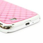 Drahokamové pouzdro pro Samsung Galaxy S4 i9500- světle-růžové - 5/7