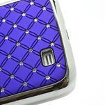 Drahokamové pouzdro pro Samsung Galaxy S4 i9500- modré - 5/7