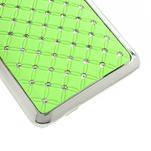 Drahokamové pouzdro pro HTC one Mini M4- zelené - 5/5