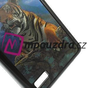 Hard Case 3D pouzdro na Xiaomi Mi3- tygr - 5