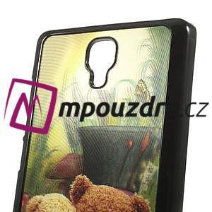 Hard Case 3D pouzdro na Xiaomi Mi3- medvídek - 5