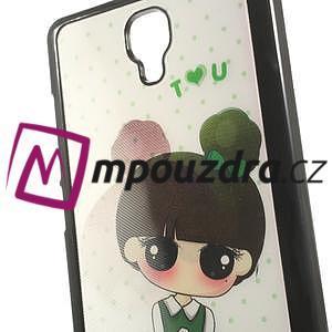 Hard Case 3D pouzdro na Xiaomi Mi3- dívka - 5